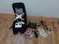 dji Phantom 2 Quadcopter *As New* with extras