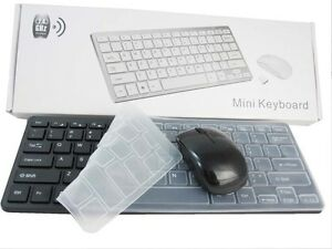 Black Wireless Keyboard & Mouse Combo Set for Acer Dell Lenovo HP Desktop PC New