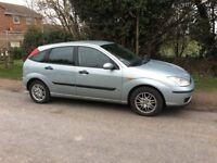 2003 (03) Ford Focus petrol 1.6LX 5 door hatchback
