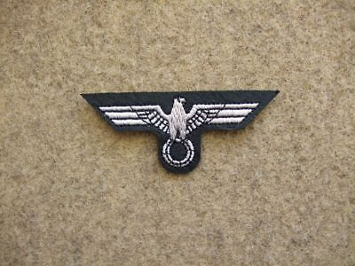 Gestickte Adler (Filz Mützenabzeichen Uniformabzeichen Pz. Abteilung Mützenadler gestickt auf  WH)