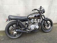 Kawasaki z650 b Cafe Racer Brat bike 5 months MOT