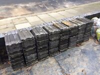 37 roof tiles. 15x9 inches. FREE