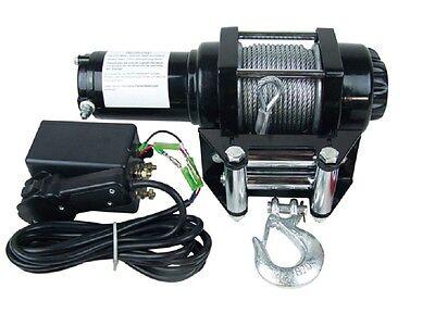 Elektrische Seilwinde Winde Motorwinde KFZ Quad bis 3110 kg mit Zubehör