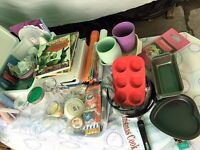 Kitchen Tools, pans, tins, cutters, and all around home on Sale! Most of items 1£