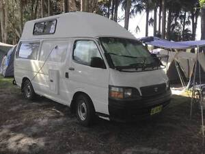 1999 Toyota Hiace Hardtop Campervan, replaced motor and gear box Charlestown Lake Macquarie Area Preview