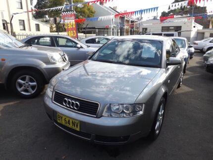 2004 Audi A4 Sedan Petersham Marrickville Area Preview