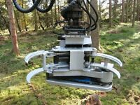 Hypro FG45 Felling Head for Forestry cranes or Digger Excavator