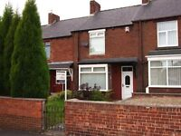 Large 2 Bed Terraced House with Garage and Gardens Jones Street, Birtley: £495 pcm NO DSS
