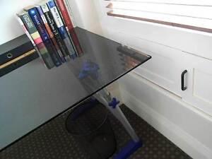 Black glass desk Potts Point Inner Sydney Preview