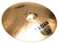 SABIAN PRO SONIX CYMBAL SET WITH CASE.