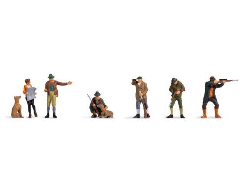 Noch 45059 Jäger Et Forester, Figurines Voie Tt (1:120)