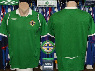 Vintage Northern Ireland Eire Umbro 2008/2010 Home Shirt Jersey Trikot Maillot image
