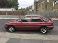 1991 Ford Escort Encore 1300 manual Has alloy wheels and sunroof .Good reliable car for an ivestment
