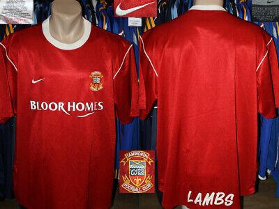 TAMWORTH FC (The Lambs) Nike 2003/2004 Home Jersey Shirt Camiseta Maglietta image