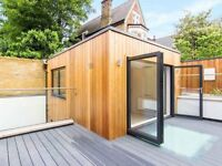 Stunning Split Level 1 Bed House With 2 Decked Patios, Unfurnished Mins Wandsworth Common Station