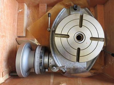 New Enco Phase Ii Horizontal Rotary Table 6 Dividing Plates 220-006 Nib