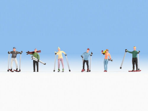 HO Scale people - 15827 - Skiers