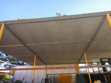 Corrugated Iron Roof Sheet - Perfect for Pergola, Carport, Sheds Yennora Parramatta Area Preview