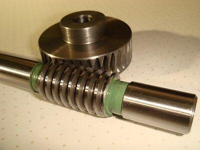 Schneckenrad  Modul 1 Zähne 40 + Schnecke