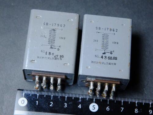 Used TAMURA vintage Audio Transformer  SB-17962  ,  2 KΩ : 10 KΩ / from Japan