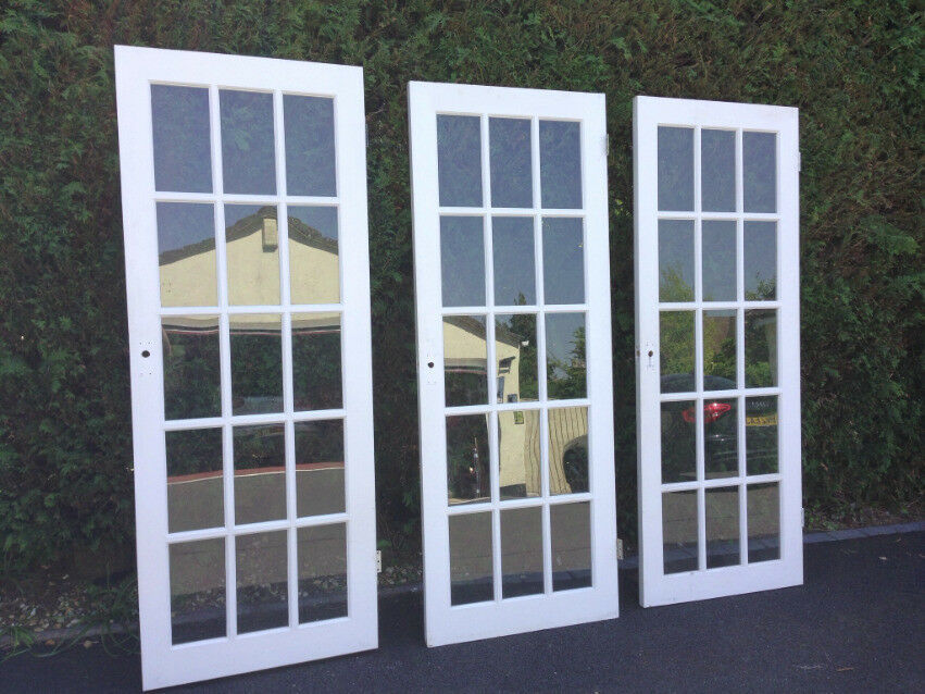 Glazed 15 Panel Interior Doors In Broadstone Dorset Gumtree