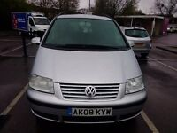 2009 VOLKSWAGEN SHARAN SE 1.9 TDi, AUTOMATIC . MPV, 7 SEATER, IDEAL EXPORT. LHD KIT AVAILABLE