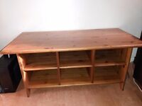 Matching IKEA Bookcase and Coffee Table
