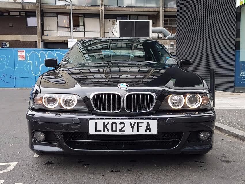 bmw e39 540i sport black sapphire very rare low mileage car with factory m sport pack in. Black Bedroom Furniture Sets. Home Design Ideas