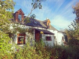 Detached 5 Bedroom Cottage For Sale in Regoul. (nr Cawdor & Nairn)