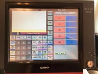 CASIO TOUCH SCREEN EPOS WITH CASH DRAWER - TILL, CASH REGISTER