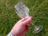 House of Frazer Lead Crystal Glasses