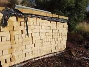 Bricks. Timbercrete sandstone Boolarra Latrobe Valley Preview