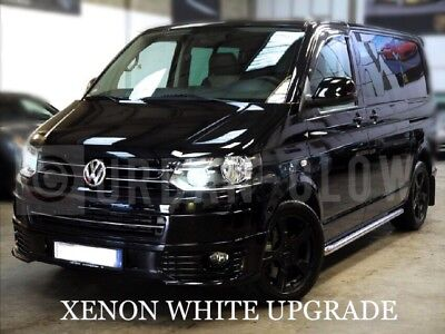VW T5 T6 TRANSPORTER LED UPGRADE XENON WHITE DRL DAYTIME RUNNING LIGHT BULBS gebraucht kaufen  Versand nach Germany