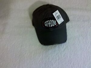 *(GIT-R-DONE)*LARRY THE CABLE GUY HAT/CAP(USA SELLER = QUICK SHIPPING)