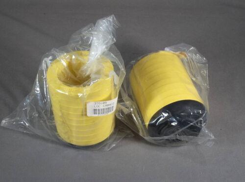 New Pair Beckman Centrifuge Rotor Bucket Multidisk 500ml Bottle Adapters (2)