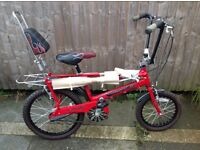 New and used Raleigh chopper mark three still wrapped