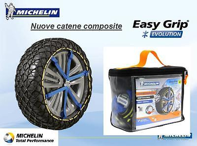 CATENE DA NEVE CALZE MICHELIN EASY GRIP EVO6 185/65-15 195/60-15 195/55-16