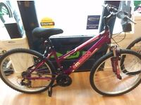 Ammeco Ladies purple mountain bike good all round fully working