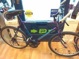 "Raleigh Sabre bike mens 21 Speed, top shifters, 26"" alloy wheels bike bicycle"