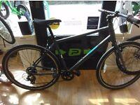 "Pinnacle Grey hybrid alloy frame XL 21"" nice bike fully working order bicycle"