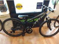 "Felt 24"" Wheel Chidrens bike suit 10yrs 3x7 grip shifter gears, alloy frame"