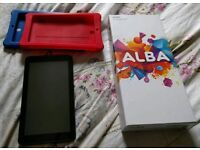 Alba 7inch tablet as new