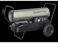 Sealey AB1008SS Space Warmer® Paraffin, Kerosene & Diesel Heater 100,000btu/hr Stainless steel