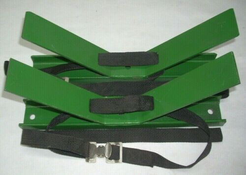 Steel Frame & Strap Tie Down Device for Transporting Welding Cylinders Tanks