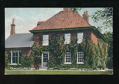Lincolnshire Lincs EPWORTH Rectory Used 1908 PPC