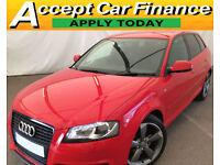 Audi A3 2.0TDI Sportback Black Edition FINANCE OFFER FROM £48 PER WEEK!