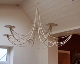 Hanging Candle holder chandelier candelabra