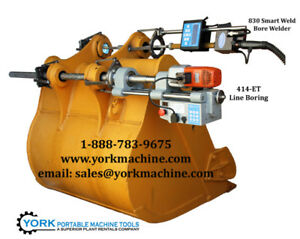 Line Boring and Bore welding machines