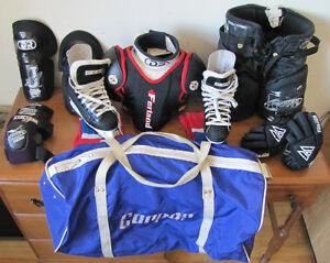 complete hockey equipment for child