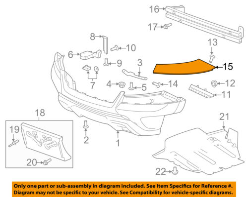Cadillac GM OEM Escalade Front Bumper-Bumper Cover Side Bracket Left 25948814